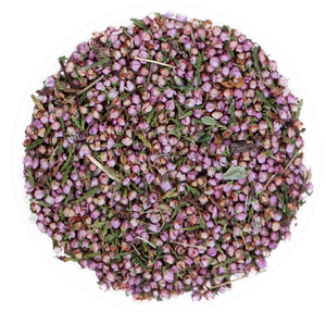Valerian tea- top view